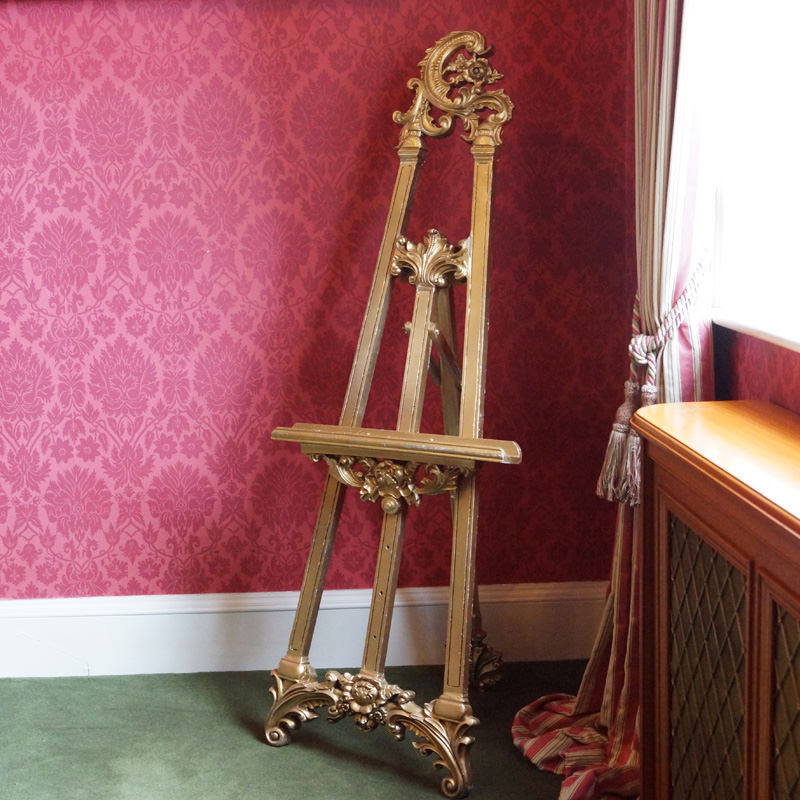 Gold Ornate Easel